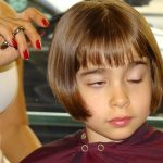 Girl haircut Beverly Hills CA
