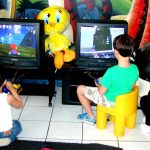 Movie and games children's hair salon
