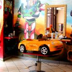 Specially designed toy haircutting chairs Los Angeles